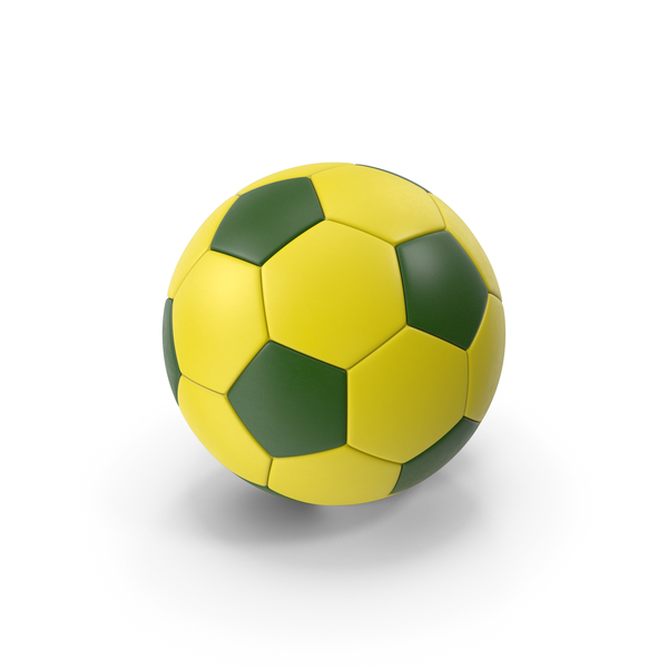 Soccer Ball Yellow PNG & PSD Images