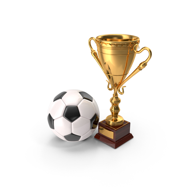 Trophy: Soccer Cup And Ball PNG & PSD Images