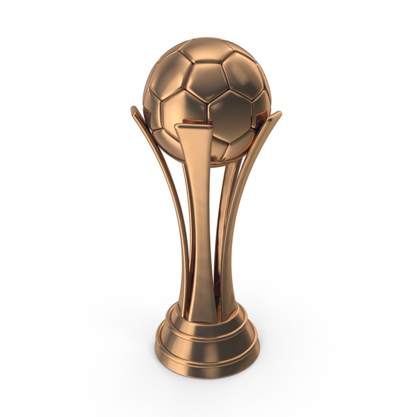 Trophy: Soccer Cup Bronze PNG & PSD Images
