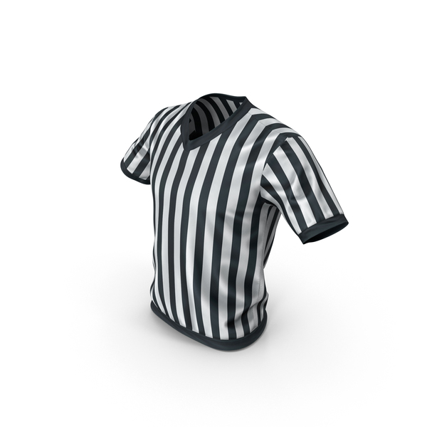 Soccer Referee T-Shirt PNG & PSD Images