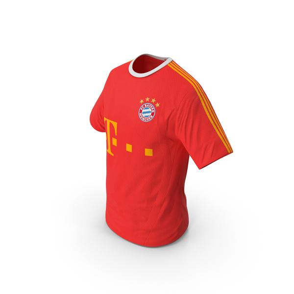 Soccer T Shirt Bayern PNG & PSD Images