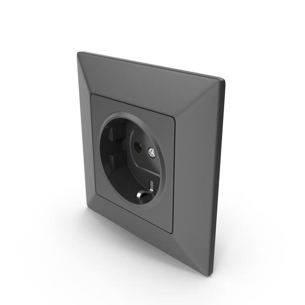 Socket Black PNG & PSD Images