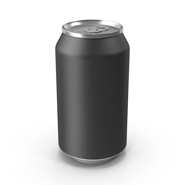 Soda Can Black PNG & PSD Images