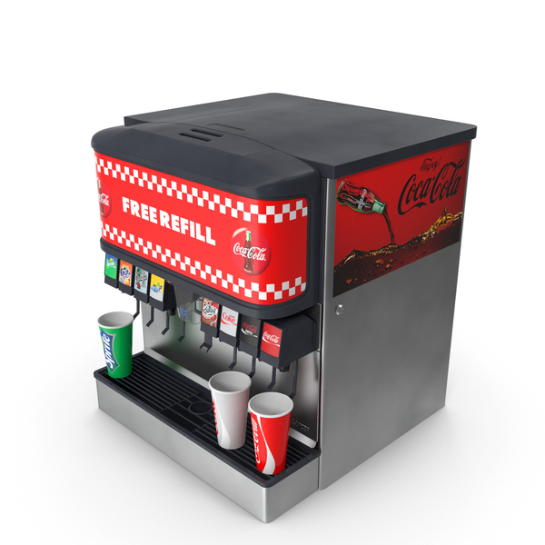 Soda Fountain Dispenser PNG & PSD Images