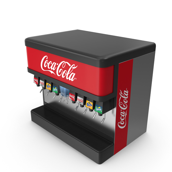 Machine: Soda Fountain PNG & PSD Images