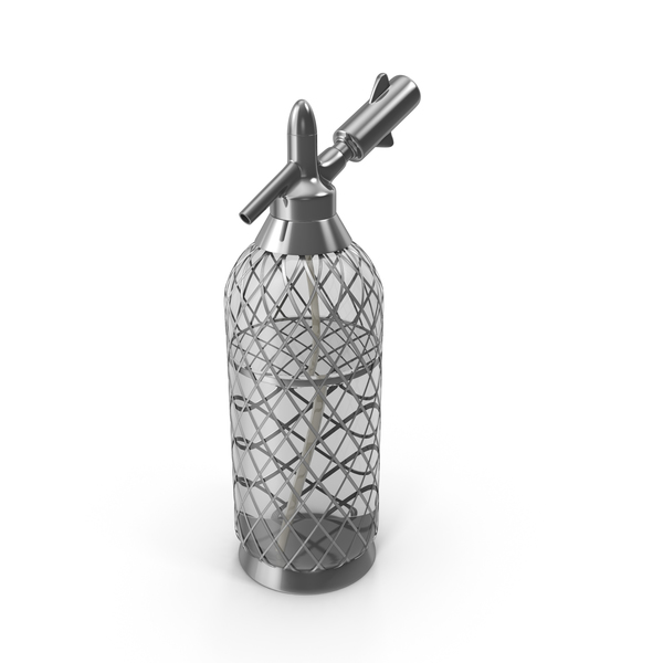 Soda Siphon With Water PNG & PSD Images