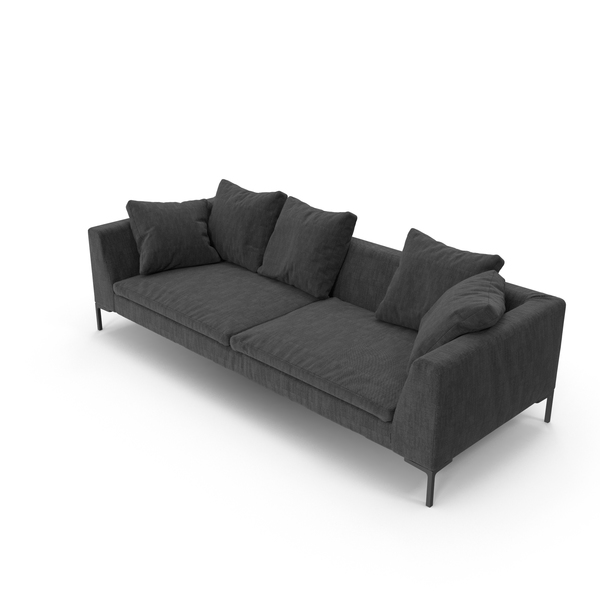Sofa Black PNG & PSD Images