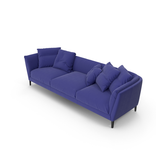 Sofa Blue PNG & PSD Images