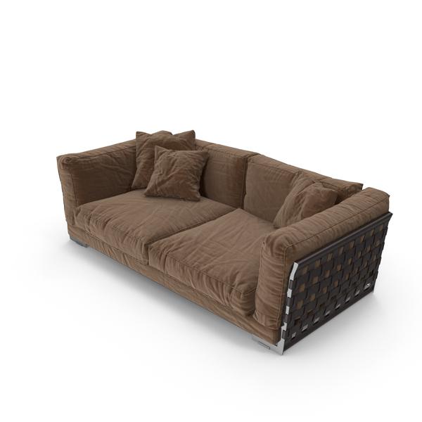 Sofa Brown PNG & PSD Images