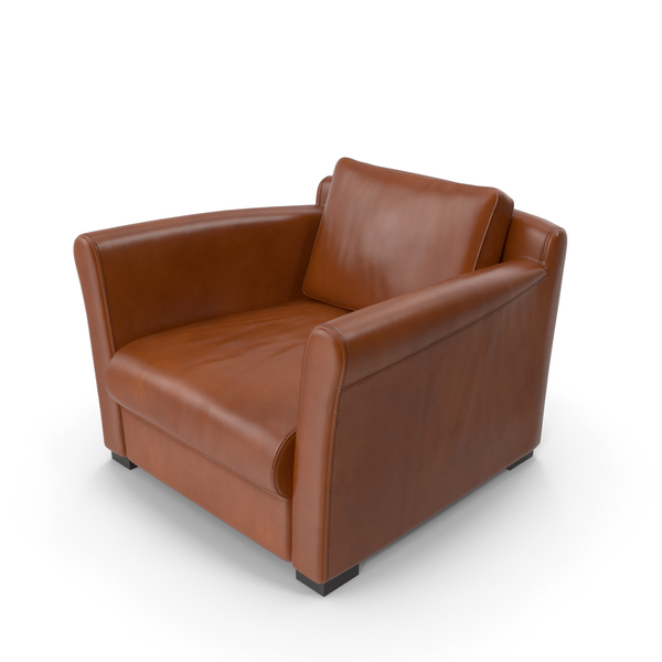 Arm Chair: Sofa Brown PNG & PSD Images