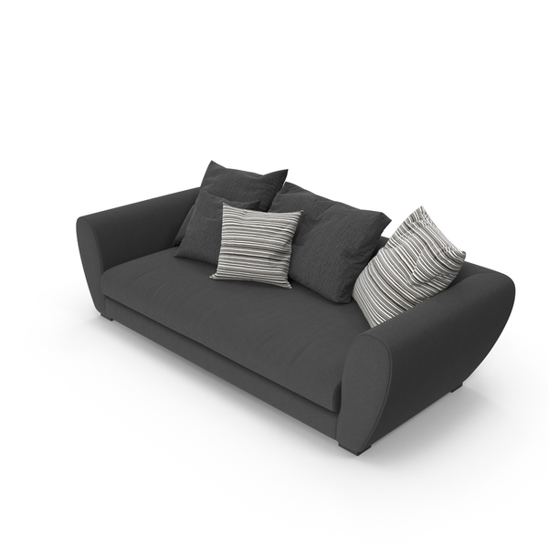 Sofa Charcoal PNG & PSD Images