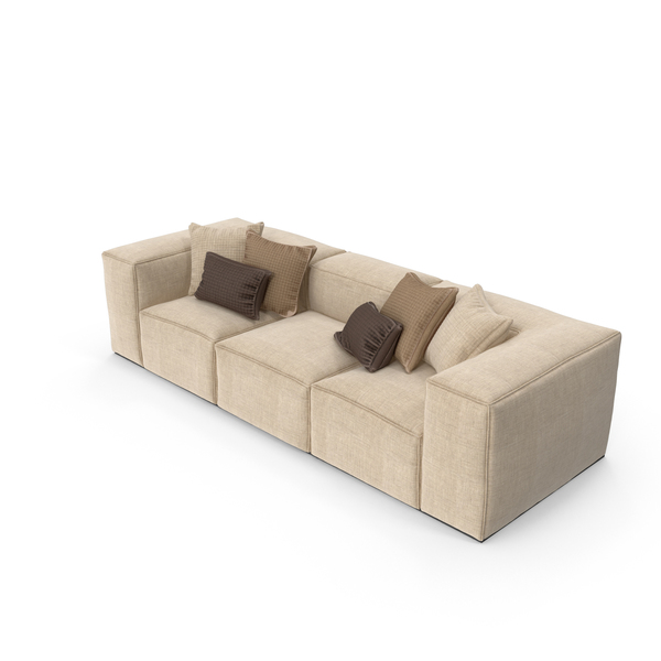 Sofa Cream PNG & PSD Images
