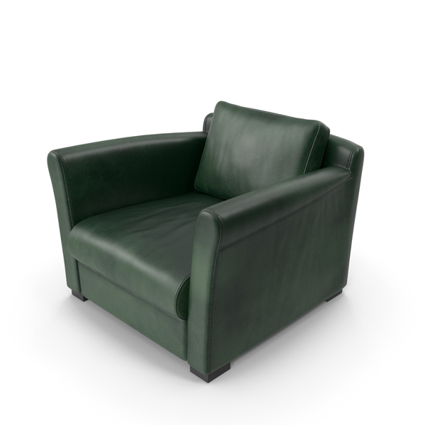 Arm Chair: Sofa Green PNG & PSD Images
