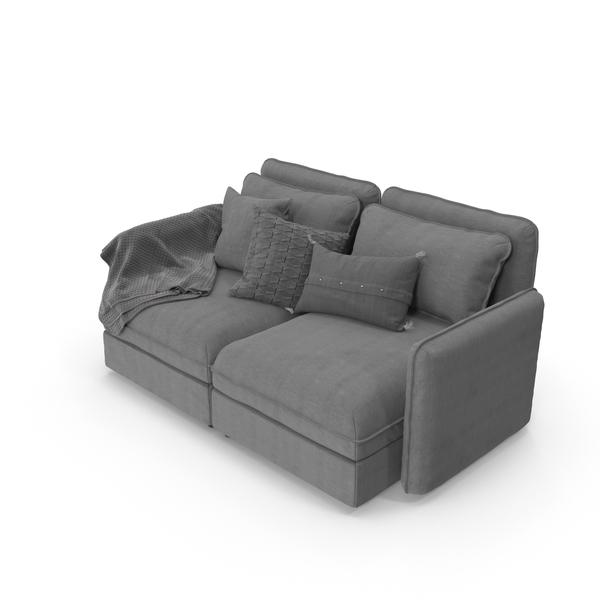 Sofa Grey PNG & PSD Images