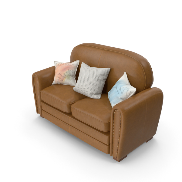 Leather: Sofa PNG & PSD Images