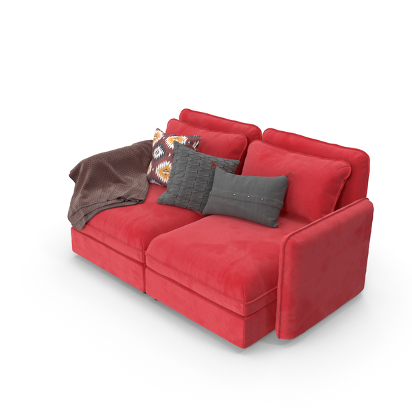 Sofa Red PNG & PSD Images