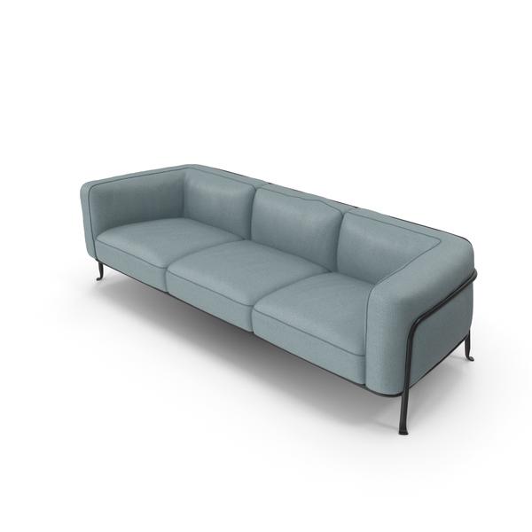 Sofa Triple PNG & PSD Images