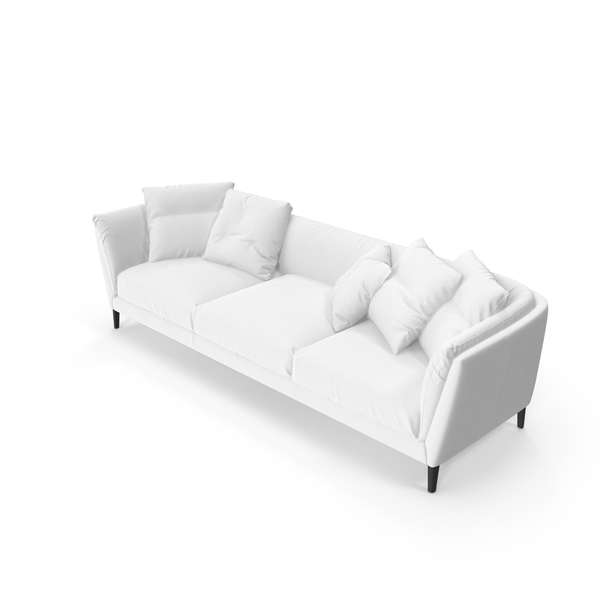 Sofa White PNG & PSD Images