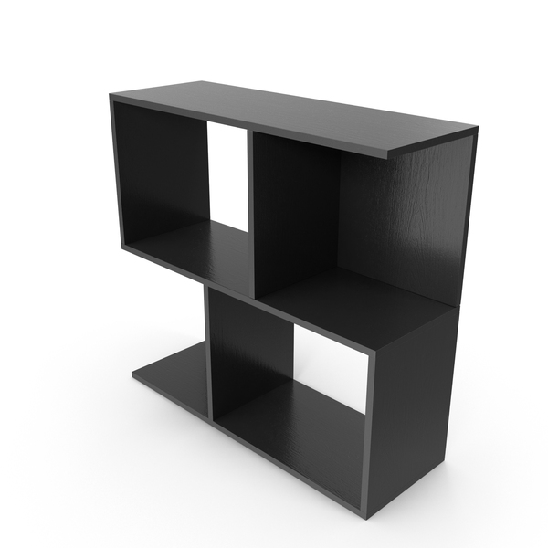 Soho Shelf black PNG & PSD Images