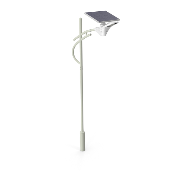 Solar LED Street Light with Battery Backup PNG & PSD Images