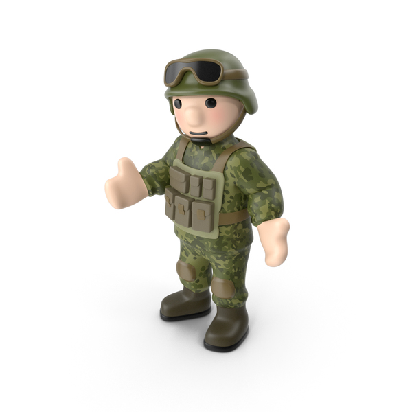 Soldier Standing PNG & PSD Images
