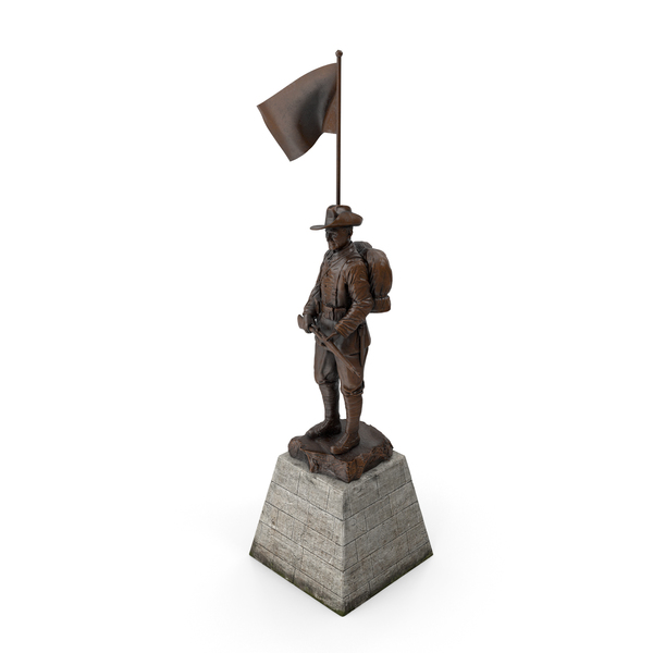 Soldier Statue PNG & PSD Images
