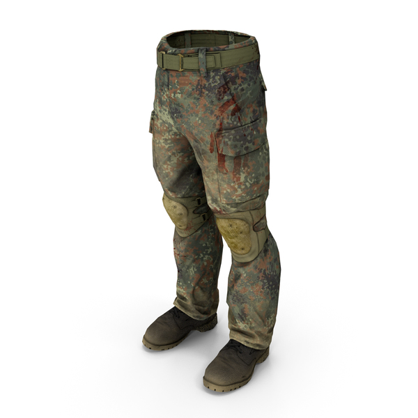 Soldier Trousers & Boots PNG & PSD Images