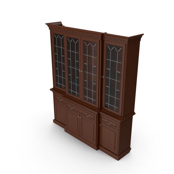 Solomon Cupboard 4 Door PNG & PSD Images