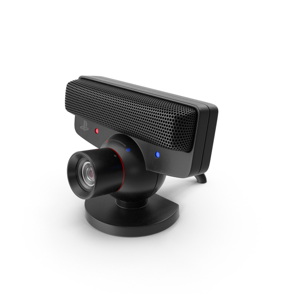 Web Camera: Sony PlayStation Eye PNG & PSD Images