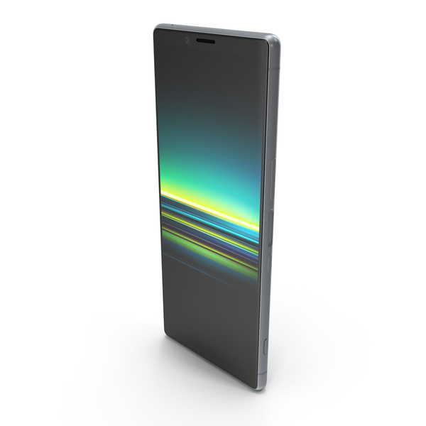 Sony Xperia 1 Gray PNG & PSD Images