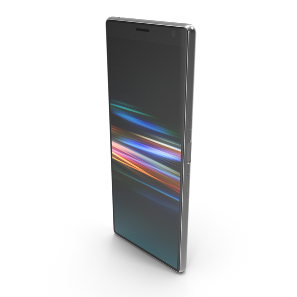 Sony Xperia 10 Silver PNG & PSD Images