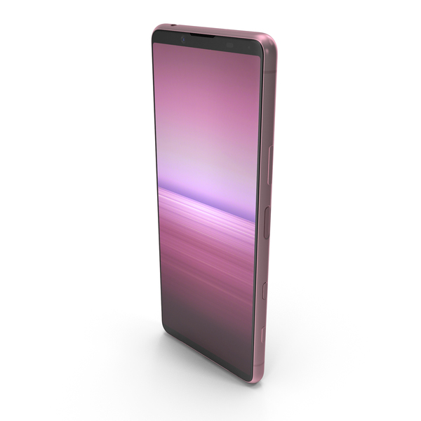 Sony Xperia 5 II Pink PNG & PSD Images
