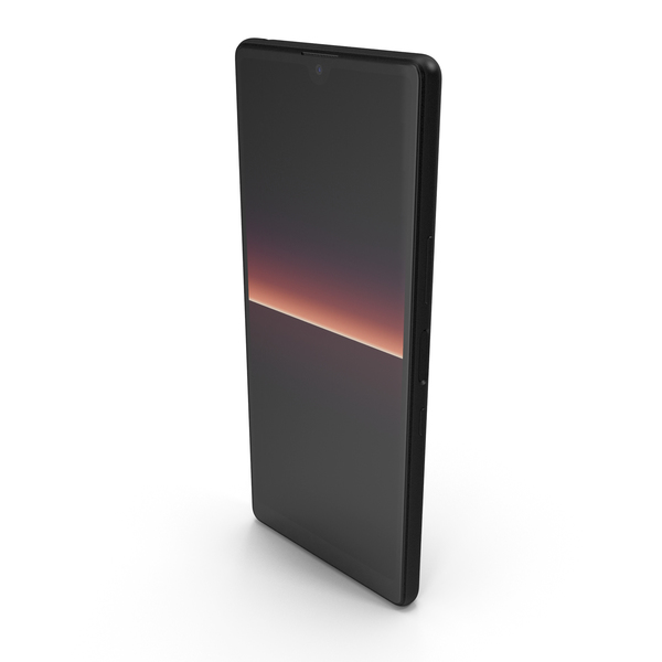 Smartphone: Sony Xperia L4 Black PNG & PSD Images