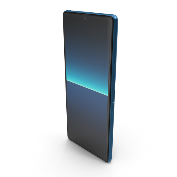 Sony Xperia L4 Blue PNG & PSD Images
