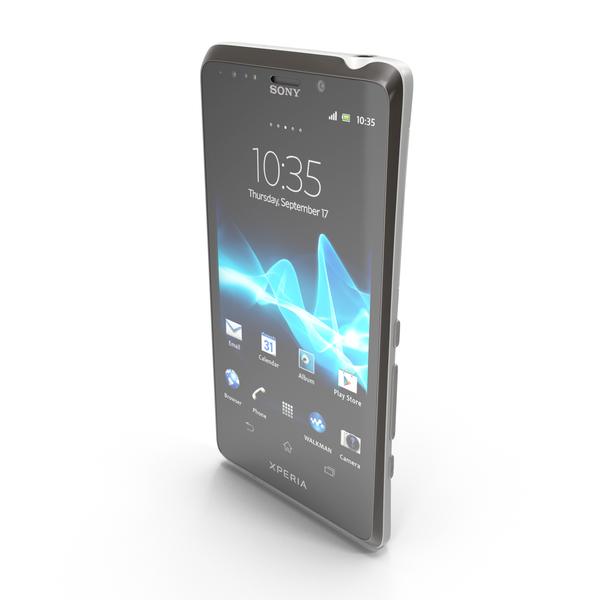 Sony Xperia T3 Black PNG & PSD Images