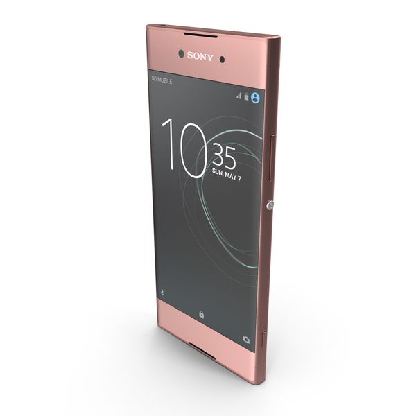 Sony Xperia XA1 Pink PNG & PSD Images