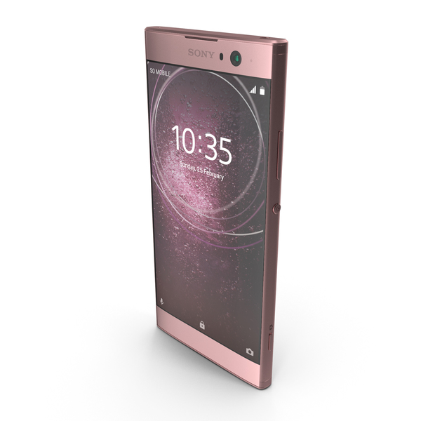 Sony Xperia XA2 Pink PNG & PSD Images