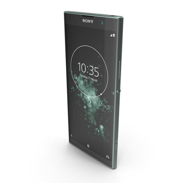 Sony Xperia XA2 Plus Green PNG & PSD Images