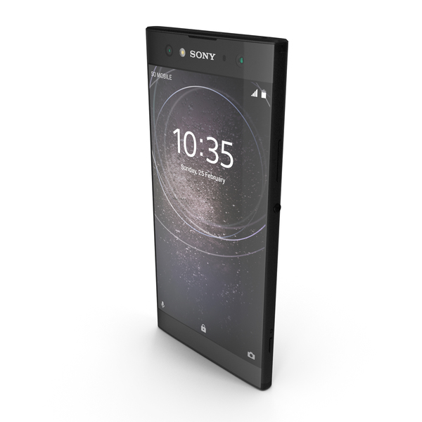 Sony Xperia XA2 Ultra Black PNG & PSD Images