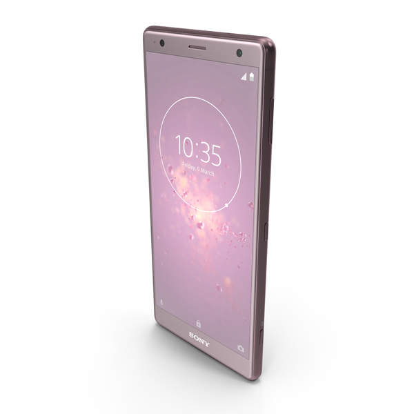 Sony Xperia XZ2 Ash Pink PNG & PSD Images