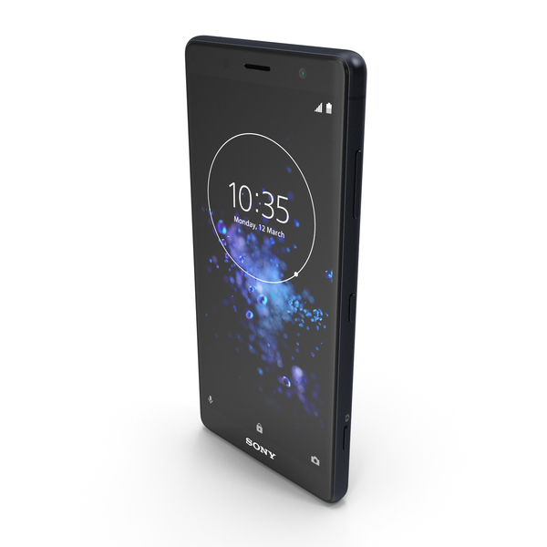 Sony Xperia XZ2 Compact Black PNG & PSD Images