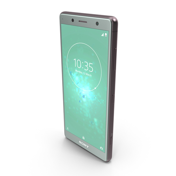 Sony Xperia XZ2 Compact Moss Green PNG & PSD Images