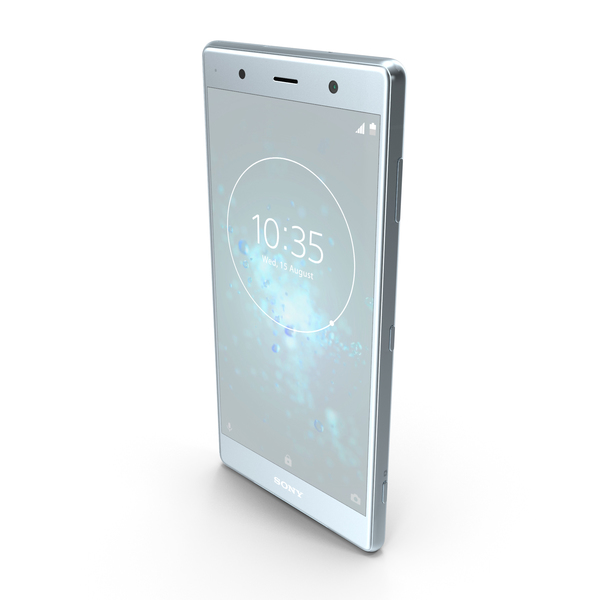 Sony Xperia XZ2 Premium Silver PNG & PSD Images