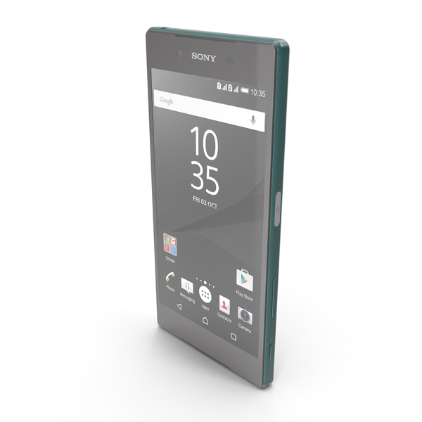 Sony Xperia Z5 Green PNG & PSD Images