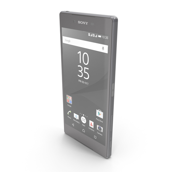 Sony Xperia Z5 Premium Chrome PNG & PSD Images