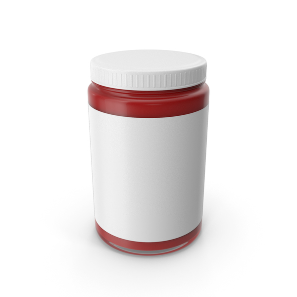 Souce Jar Red PNG & PSD Images