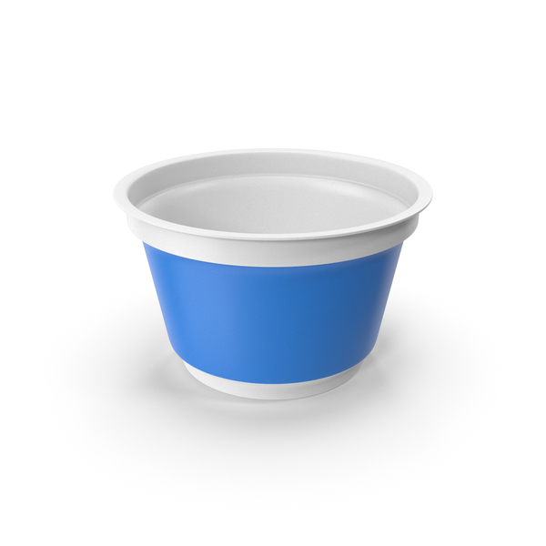 Sour Cream Cup Empty PNG & PSD Images
