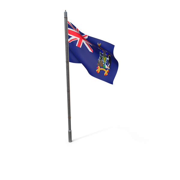 South Georgia and the South Sandwich Islands Flag PNG & PSD Images