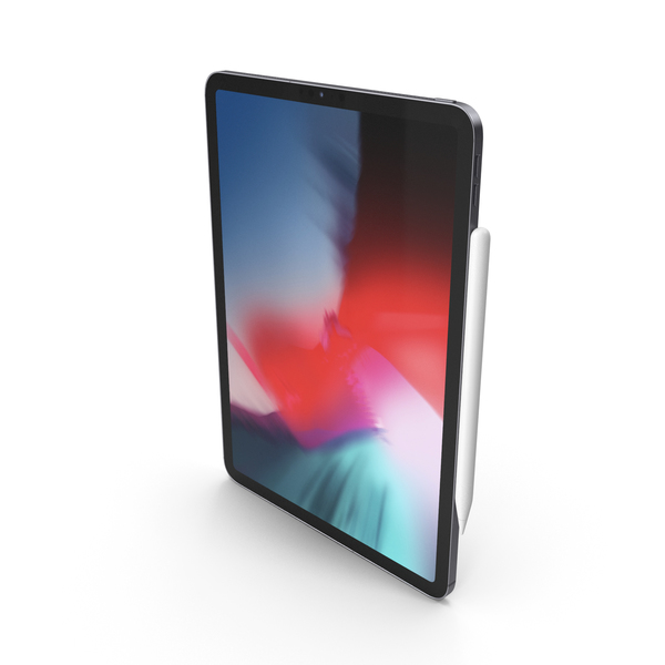 Tablet Computer: Space Gray iPad Pro 2019 11 inch PNG & PSD Images