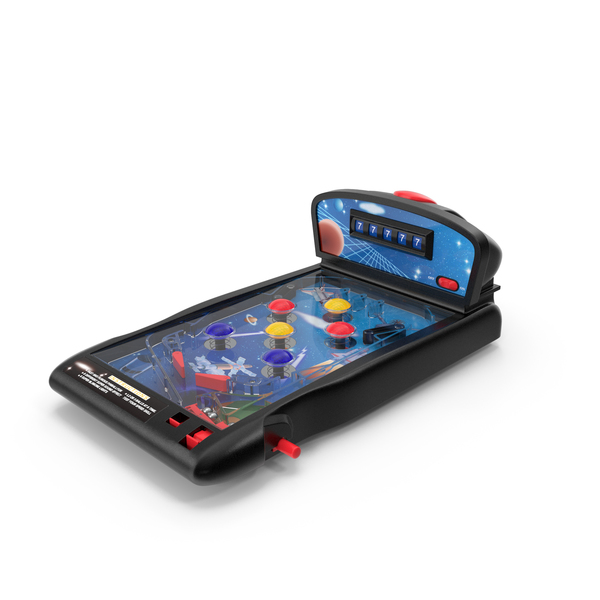 Space Mini Pinball Machine PNG & PSD Images